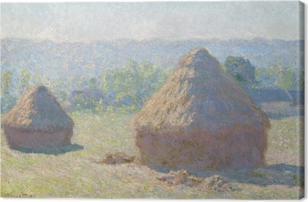 Obraz na płótnie Claude Monet - Stogi - Reprodukcje