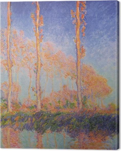 Obraz na płótnie Claude Monet - Topole - Reprodukcje