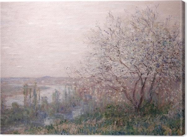 Obraz na płótnie Claude Monet - Wiosna - Reprodukcje