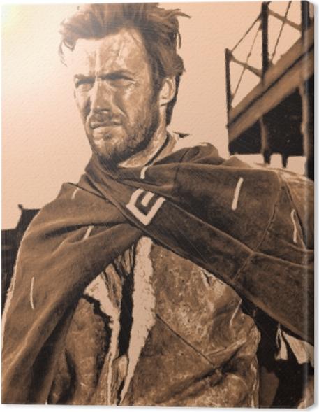 Obraz na płótnie Clint Eastwood - Criteo