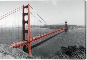 Obraz na płótnie Czerwony most Golden Gate