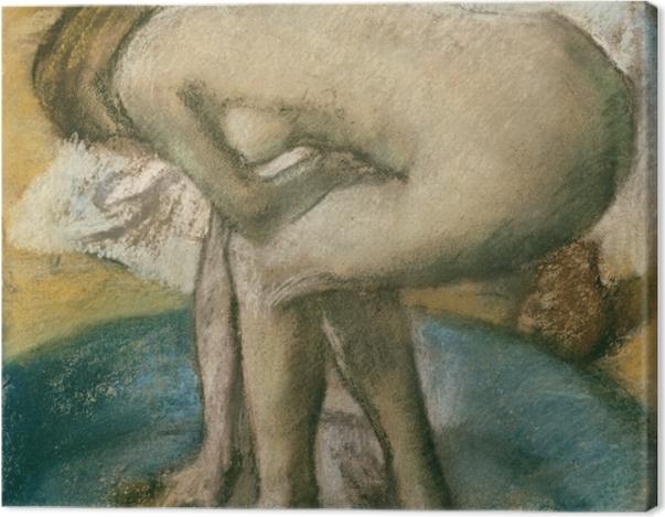 Obraz na płótnie Edgar Degas - Kąpiel - Reprodukcje