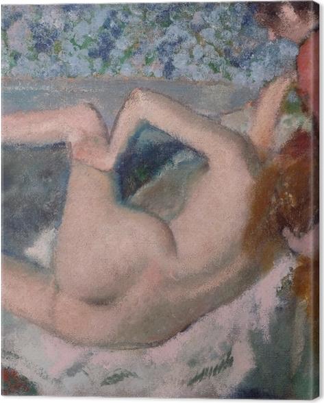 Obraz na płótnie Edgar Degas - Po kąpieli - Reprodukcje