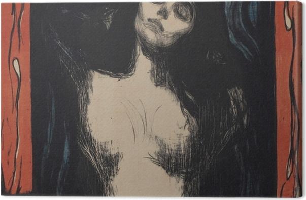 Obraz na płótnie Edvard Munch - Madonna - Reprodukcje