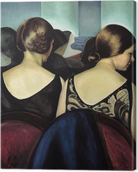 Obraz na płótnie Efa Prudence Heward - W teatrze - Reproductions