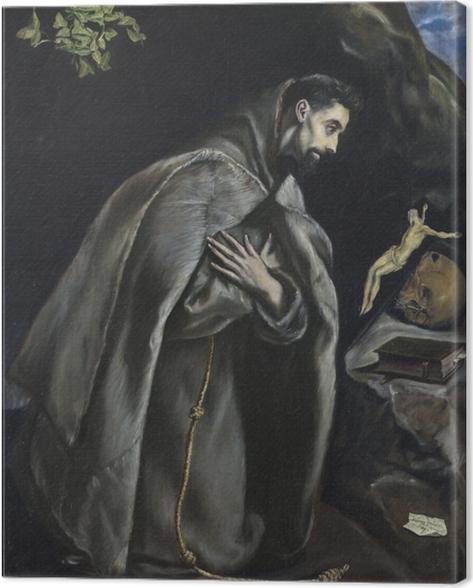 Obraz na płótnie El Greco - Ekstaza św. Franciszka - Reprodukcje