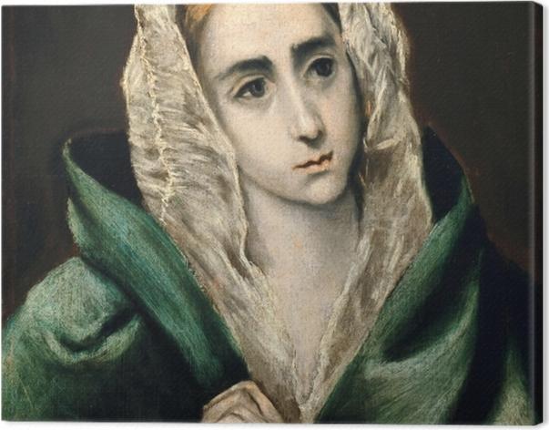 Obraz na płótnie El Greco - Mater Dolorosa - Reprodukcje