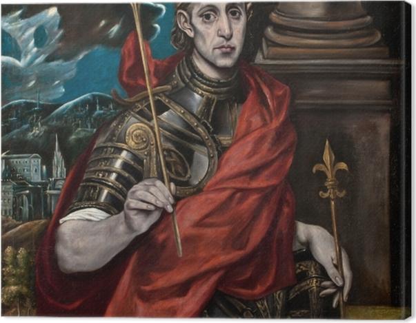Obraz na płótnie El Greco - Św. Ludwik król Francji - Reprodukcje