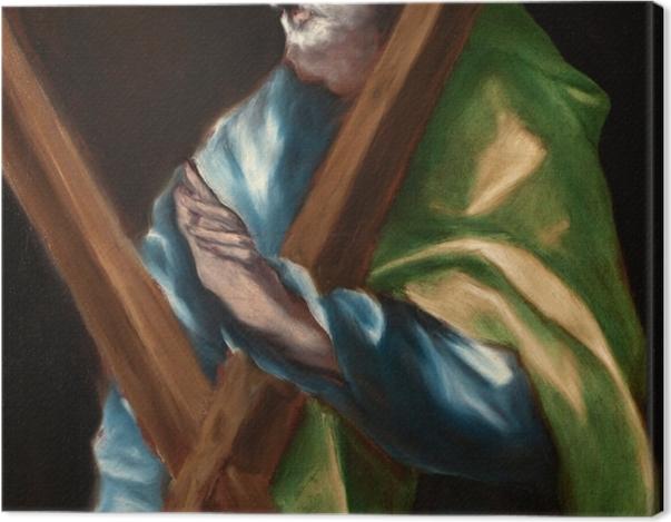 Obraz na płótnie El Greco - Święty Andrzej - Reprodukcje