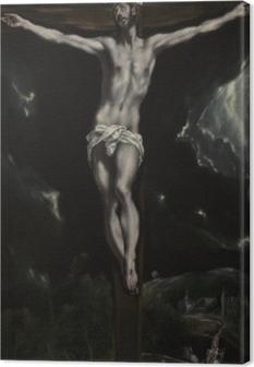 Obraz na płótnie El Greco - Ukrzyżowanie
