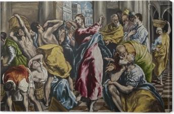Obraz na płótnie El Greco - Wypędzenie przekupniów ze świątyni