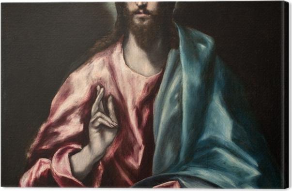 Obraz na płótnie El Greco - Zbawca Świata - Reprodukcje
