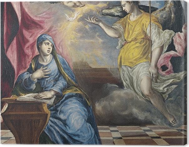 Obraz na płótnie El Greco - Zwiastowanie - Reprodukcje