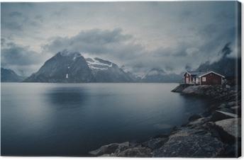 Obraz na płótnie Fischerhütte