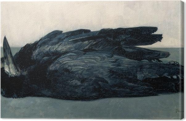 Obraz na płótnie Floris Verster - Dwa martwe gawrony - Reproductions