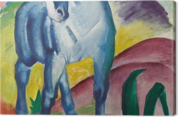 Obraz na płótnie Franz Marc - Niebieski koń - Reproductions