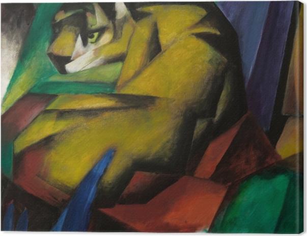 Obraz na płótnie Franz Marc - Tygrys - Reproductions