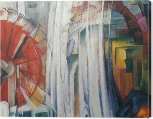 Obraz na płótnie Franz Marc - Zaczarowany młyn - Reproductions