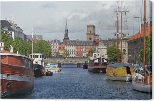 Obraz Na Płótnie Frederiksholm Chanel Kopenhaga Pixers żyjemy