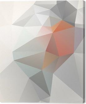 Obraz na płótnie Geometryczne tło światło wektorowej EPS 10