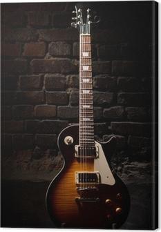 Obraz na płótnie Gitara elektryczna