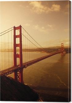 Obraz na płótnie Golden Gate Bridge, San Francisco, Kalifornia