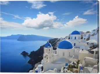 Obraz na płótnie Grecja - Santorini (Oia)