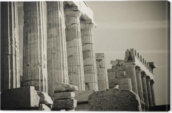 Obraz na płótnie Greckie Kolumny