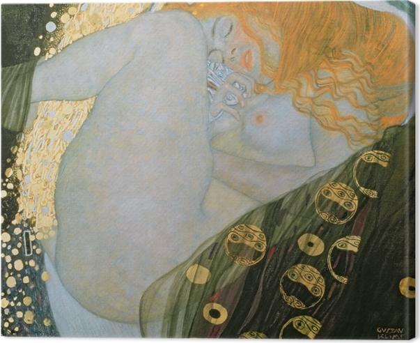 Obraz na płótnie Gustav Klimt - Danae - Reprodukcje