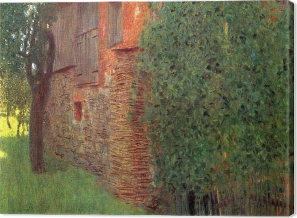 Obraz na płótnie Gustav Klimt - Dom w Kammer - Reprodukcje