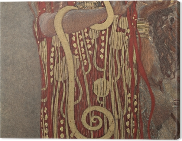 Obraz na płótnie Gustav Klimt - Higiea - Reprodukcje