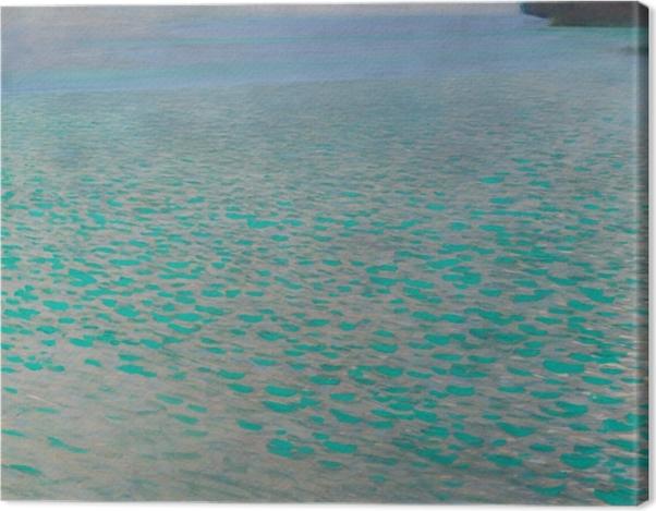 Obraz na płótnie Gustav Klimt - Jezioro Attersee - Reprodukcje