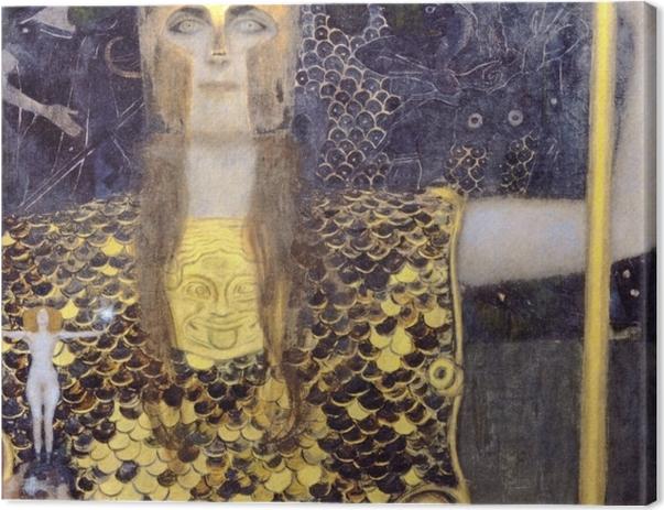 Obraz na płótnie Gustav Klimt - Minerwa lub Pallas Atena - Reprodukcje