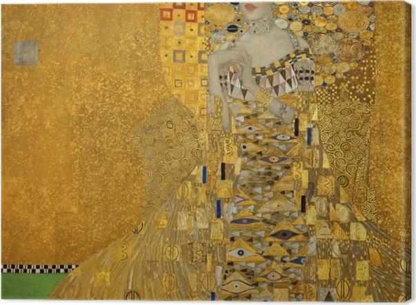 Obraz na płótnie Gustav Klimt - Portret Adele Bloch-Bauer - Reprodukcje