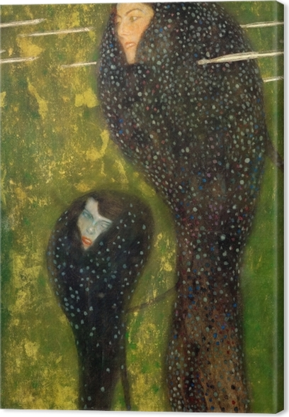 Obraz na płótnie Gustav Klimt - Syreny - Reprodukcje