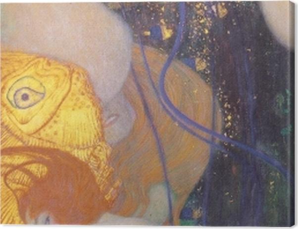 Obraz na płótnie Gustav Klimt - Złota rybka - Reprodukcje