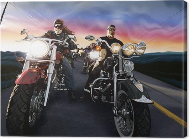 Obraz na płótnie Harley Davidson - Tematy