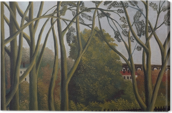 Obraz na płótnie Henri Rousseau - Brzeg Bièvre nieopodal Bicêtre - Reprodukcje