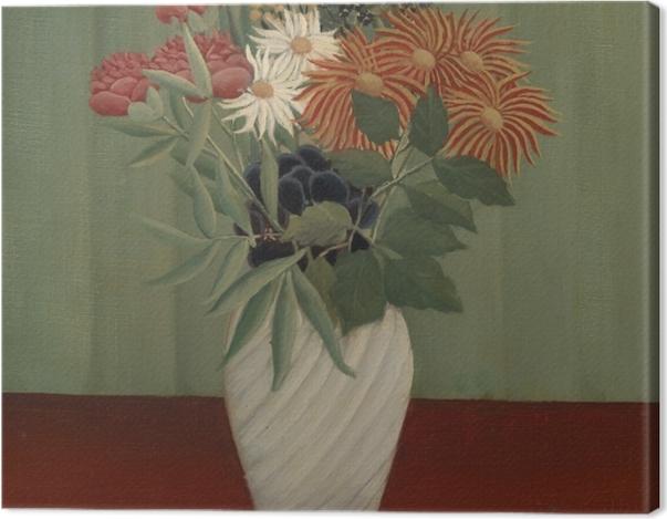 Obraz na płótnie Henri Rousseau - Bukiet kwiatów - Reprodukcje