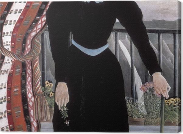 Obraz na płótnie Henri Rousseau - Portret kobiety - Reprodukcje