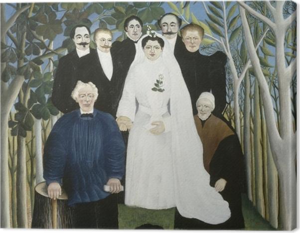 Obraz na płótnie Henri Rousseau - Wesele - Reprodukcje