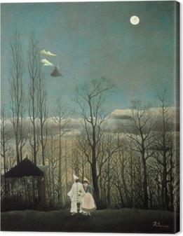Obraz na płótnie Henri Rousseau - Wieczór karnawałowy