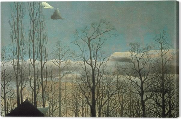 Obraz na płótnie Henri Rousseau - Wieczór karnawałowy - Reprodukcje
