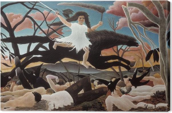 Obraz na płótnie Henri Rousseau - Wojna - Reprodukcje