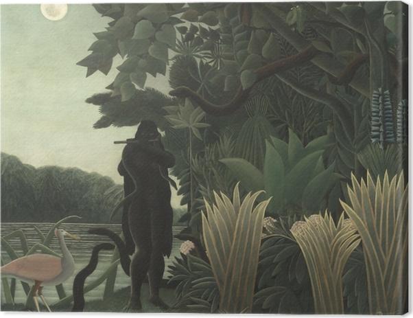 Obraz na płótnie Henri Rousseau - Zaklinaczka węży - Reprodukcje