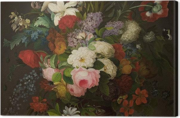 Obraz na płótnie Henryka Beyer - Kwiaty - Reproductions