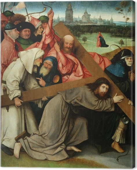 Obraz na płótnie Hieronim Bosch - Droga krzyżowa - Reproductions