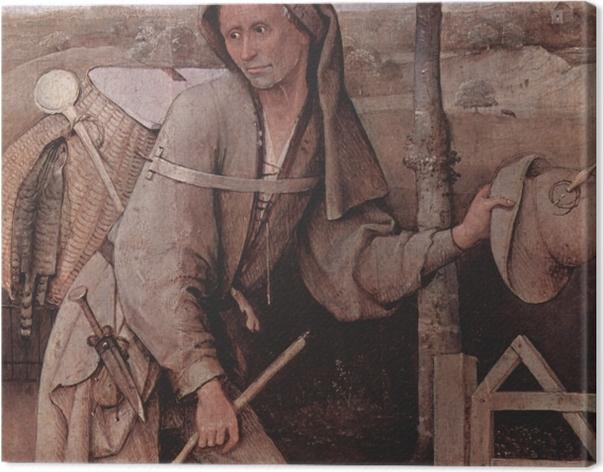 Obraz na płótnie Hieronim Bosch - Wędrowiec - Reproductions
