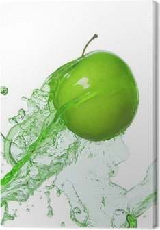 Obraz na płótnie Jabłko w strumieniu