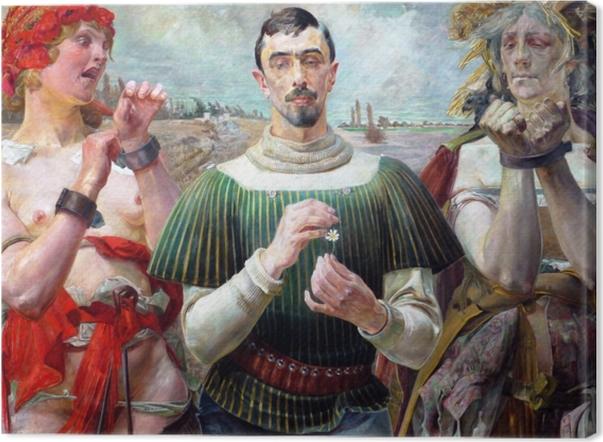 Obraz na płótnie Jacek Malczewski - Hamlet Polski - Reproductions